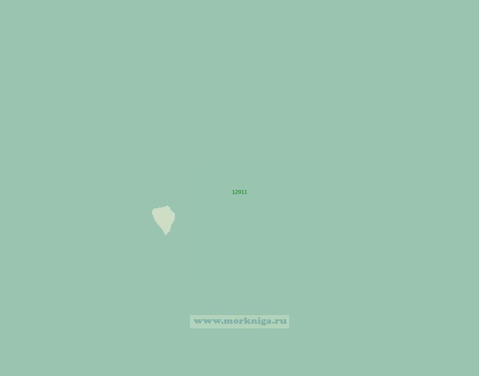 12911 Подходы к острову Медвежий (Бьёрнёйа) (Масштаб 1:200 000)