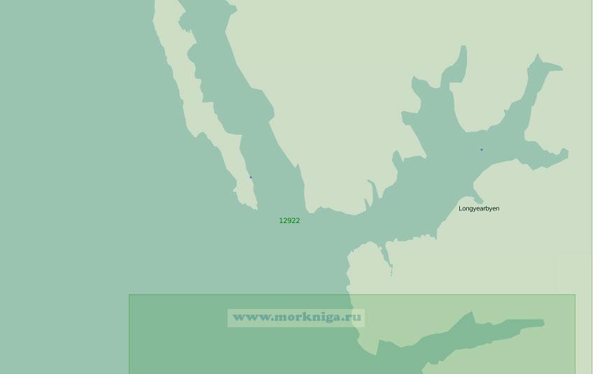 12922 От залива Белльсунн до мыса Фуглехукен (Масштаб 1:200 000)