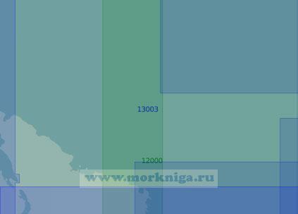 13003 От маяка Вайдагубский до маяка Цыпнаволокский (Масштаб 1:100 000)