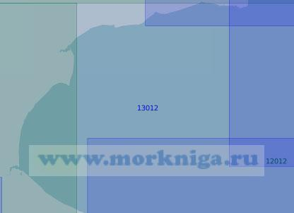 13012 От мыса Микулкин до реки Чёша (Масштаб 1:100 000)