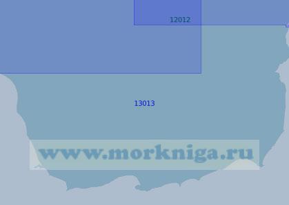 13013 От мыса Нягринский Нос до мыса Великий Нос (Масштаб 1:100 000)