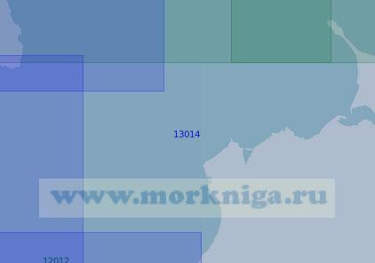 13014 От мыса Великий Нос до мыса Святой Нос (Тиманский) (Масштаб 1:100 000)