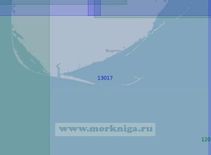 13017 Южная часть острова Колгуев (Масштаб 1:100 000)