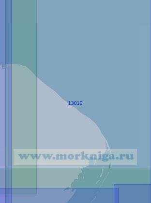 13019 Северо-восточная часть острова Колгуев (Масштаб 1:100 000)