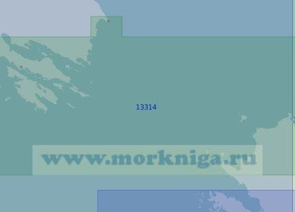 13314 Пролив Карские Ворота (Масштаб 1:100 000)