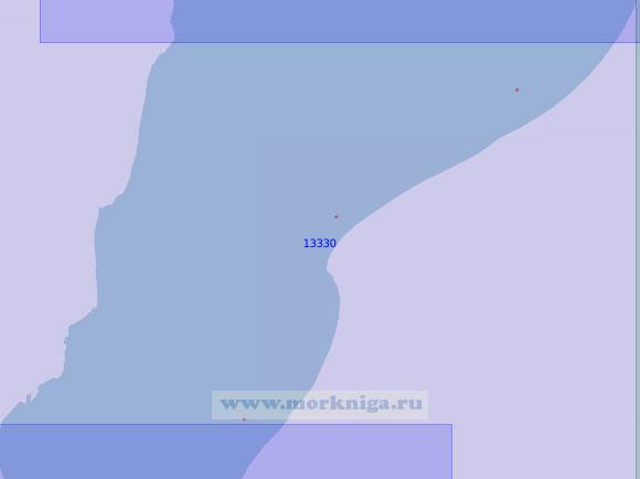 13330 От реки Сабколянгъяха до бухты Тамбей (Масштаб 1:100 000)