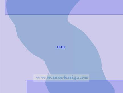 13331 От бухты Тамбей до банок Вилькицкого (Северных) (Масштаб 1:100 000)