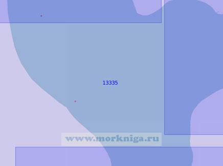 13335 От мыса Трехбугорный до мыса Каменный (Масштаб 1:100 000)