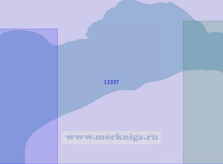 13337 Вход в Тазовскую губу (Масштаб 1:100 000)