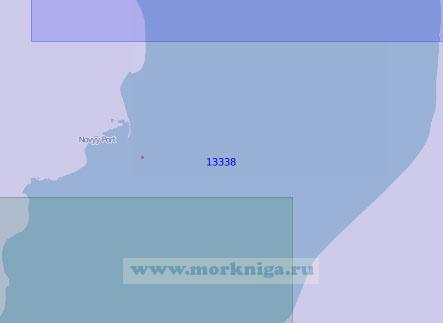 13338 От порта Ямбург до мыса Виткова (Масштаб 1:100 000)