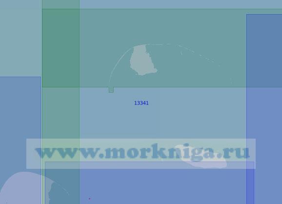 13341 Острова Шокальского, Вилькицкого и Неупокоева (Масштаб 1:100 000)