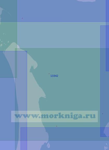 13342 От острова Неупокоева до острова Олений (Масштаб 1:100 000)