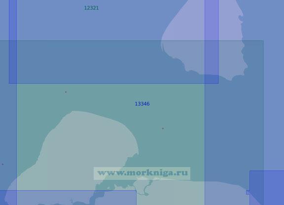 13346 Пролив Овцына (Масштаб 1:100 000)