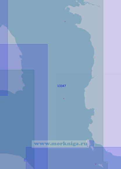 13347 От мыса Ефремов Камень до острова Большой Корсаковский (Масштаб 1:100 000)