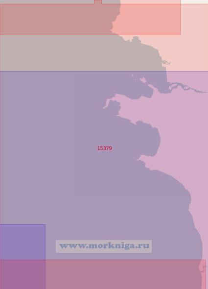 15379 От мыса Исаченко до реки Крестьянка (Масштаб 1:50 000)