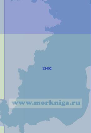 13402 Залив Фаддея (Масштаб 1:100 000)