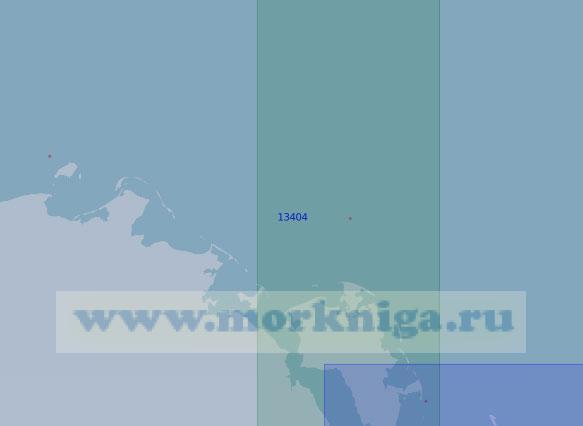 13404 От острова Андрея до островов Петра (Масштаб 1:100 000)
