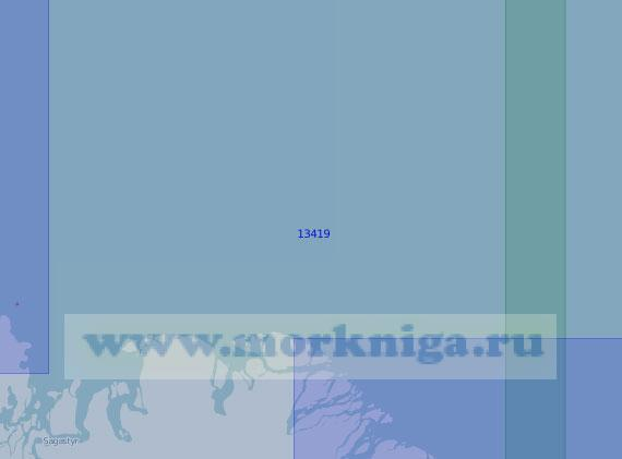 13419 От мыса Докторский до островов Хастыр-Тёрдюн-Бёлкёйдёрё (Масштаб 1:100 000)