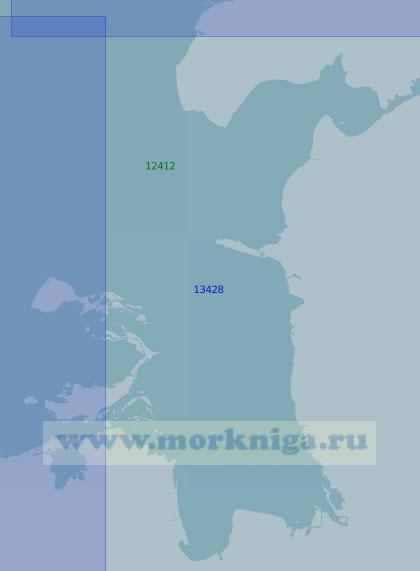 13428 Губы Селляхская и Ванькина (Масштаб 1:100 000)