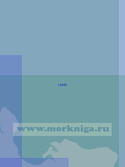 13440 От мыса Высокий до мыса Плоский (Масштаб 1:100 000)