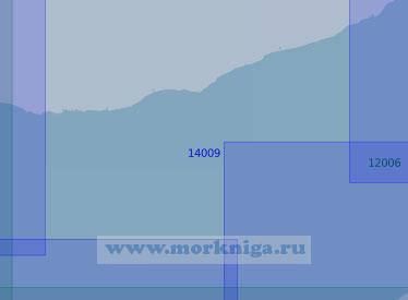 14009 Южная часть горла Белого моря (Масштаб 1:100 000)