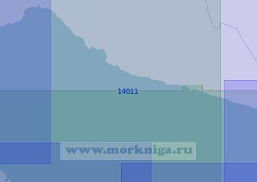 14011 От мыса Толстик до полуострова Турий (Масштаб 1:100 000)