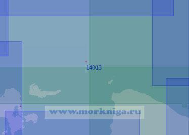 14013 От острова Анзерский до мыса Плашковский (Масштаб 1:100 000)