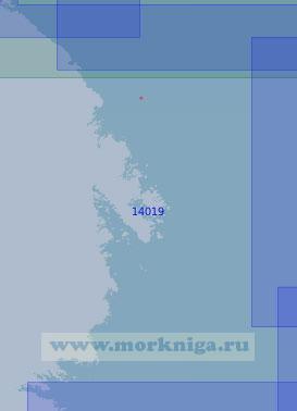 14019 От губы Поньгома до острова Соностров (Масштаб 1:100 000)