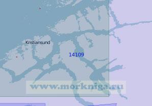 14109 Фьорды Нурмерсфьордене (Масштаб 1:100 000)