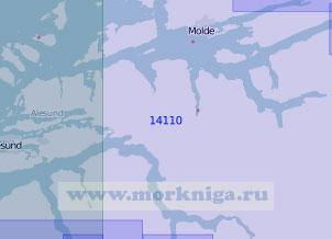 14110 Стур-фьорд и Румсдалс-фьорд (Масштаб 1:100 000)