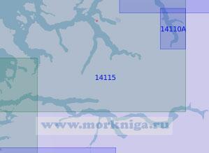 14115 Нур-Фьорд (Масштаб 1:100 000)