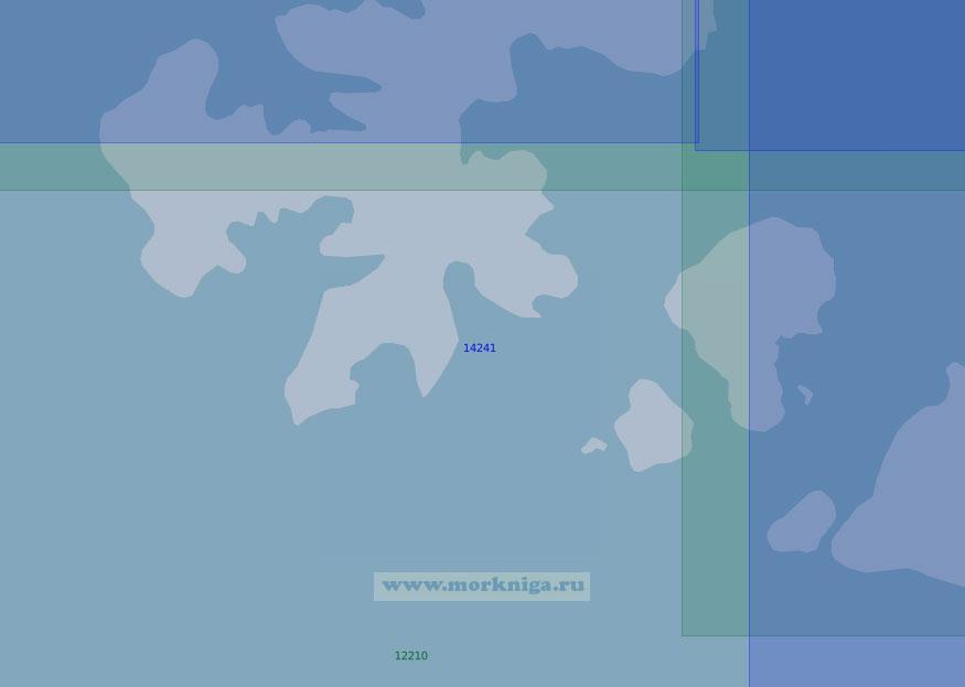 14241 Проливы Найтингейл и Майерса (Масштаб 1:100 000)