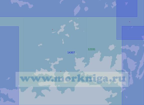 14307 Пролив Матисена (Масштаб 1:100 000)