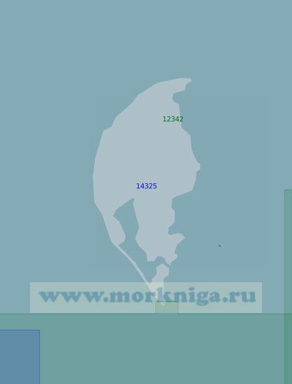 14325 Острова Арктического Института (Масштаб 1:100 000)