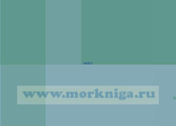 14327 Остров Уединения (Масштаб 1:100 000)