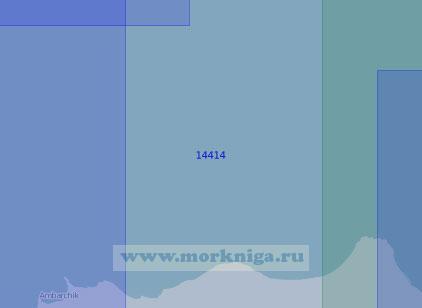 14414 От бухты Амбарчик до мыса Большой Баранов (Масштаб 1:100 000)