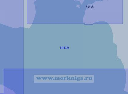 14419 Северная часть Чаунской губы (Масштаб 1:100 000)
