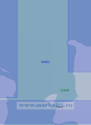14421 От острова Ченкууль до мыса Шелагский с портом Певек (Масштаб 1:100 000)