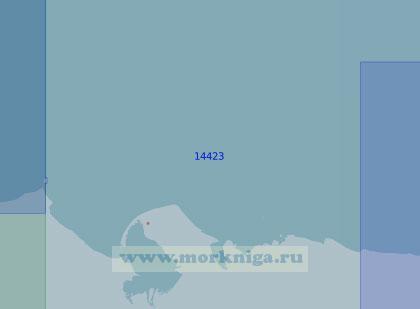 14423 От острова Шалаурова до мыса Шалаурова Изба (Масштаб 1:100 000)
