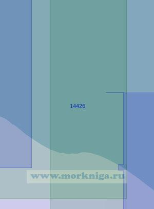 14426 От мыса Якан до косы Нотакытрын (Масштаб 1:100 000)