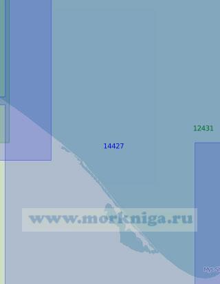 14427 От косы Нотакытрын до мыса Отто Шмидта (Масштаб 1:100 000)