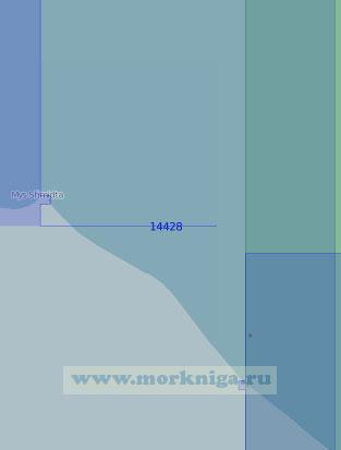 14428 От мыса Отто Шмидта до пролива Пильгын (Масштаб 1:100 000)