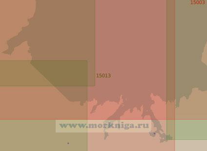 15013 От мыса Сетьнаволок до острова Кильдин (Масштаб 1:25 000)