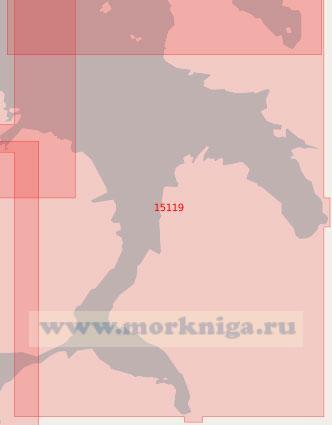 15119 Залив Ревсботн и пролив Варгсуннет (Масштаб 1:50 000)