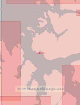 15141 Пролив Маланген (Масштаб 1:50 000)