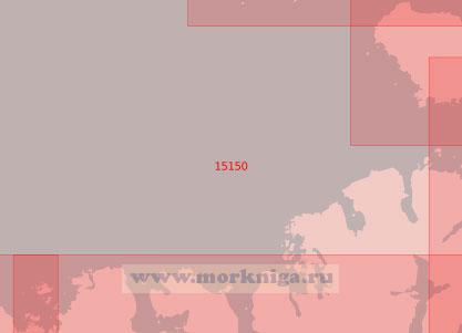15150 От мыса Эггум до маяка Литлёй (Масштаб 1:50 000)