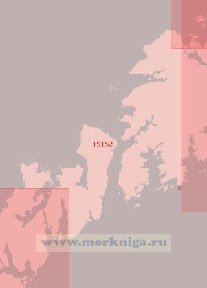 15152 От гавани Рейне до мыса Эггум (Масштаб 1:50 000)