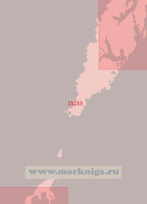 15153 От острова Верёй до гавани Рейне (Масштаб 1:50 000)