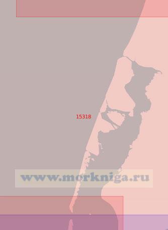 15318 От залива Шарапов Шар до реки Воркуяха (Масштаб 1:50 000)