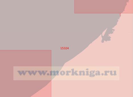 15324 От светящего знака Чёрный Берег до светящего знака Юнъяха (Масштаб 1:50 000)